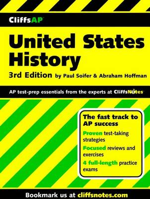 CliffsAP United States History Preparation Guide: 3rd Edition (Paperback)