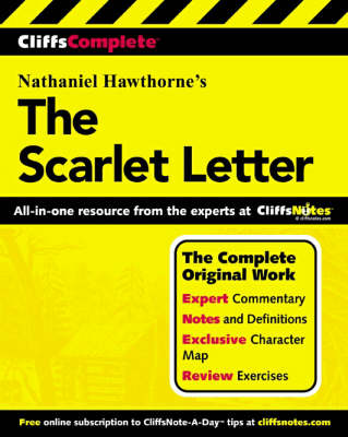 The Scarlet Letter: Complete Study Edition - CliffsComplete S. (Paperback)