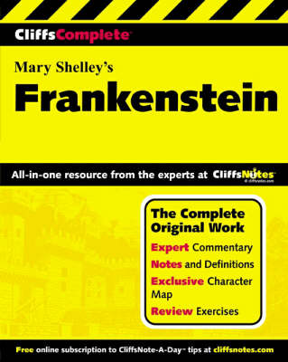 Frankenstein: Complete Study Edition - Cliffs Notes S. (Paperback)