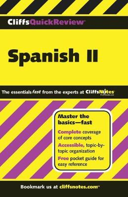 Spanish II: v. 2 - Cliffs Quick Review S. (Paperback)