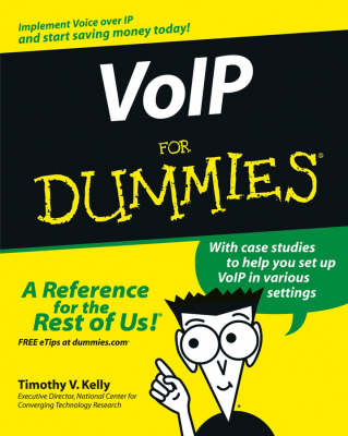 VoIP For Dummies (Paperback)