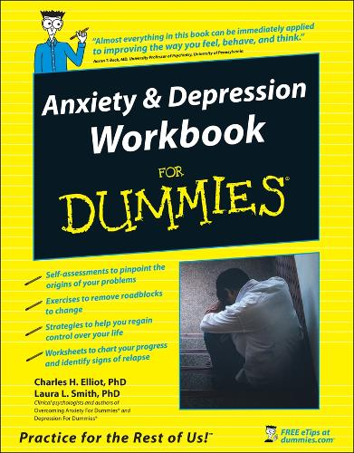 Anxiety and Depression Workbook For Dummies (Paperback)