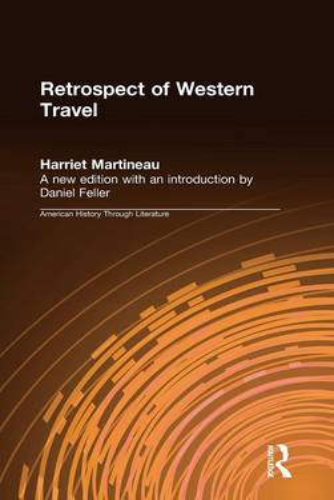 Retrospect of Western Travel (Hardback)