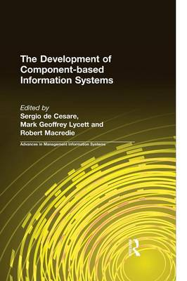 The Development of Component-based Information Systems (Hardback)