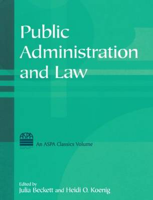 Public Administration and Law (Hardback)