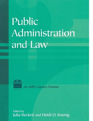 Public Administration and Law (Paperback)