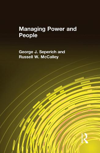 Managing Power and People (Hardback)