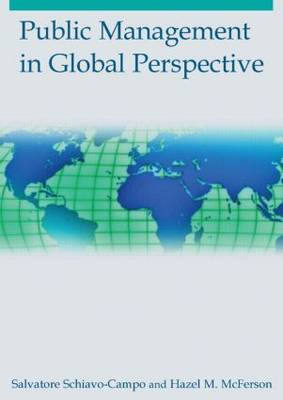 Public Management in Global Perspective (Paperback)