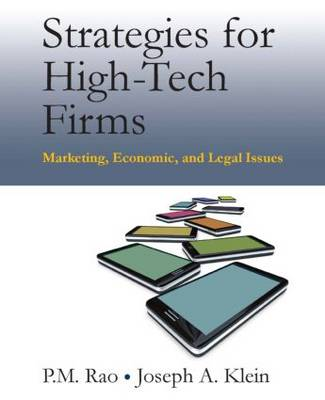 Strategies for High-Tech Firms: Marketing, Economic, and Legal Issues (Paperback)
