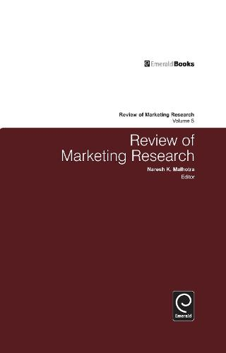 Review of Marketing Research: Volume 5 (Hardback)