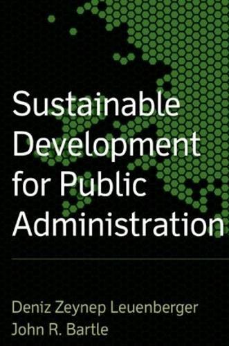 Sustainable Development for Public Administration (Hardback)