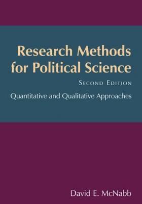 Research Methods for Political Science: Quantitative and Qualitative Methods (Paperback)