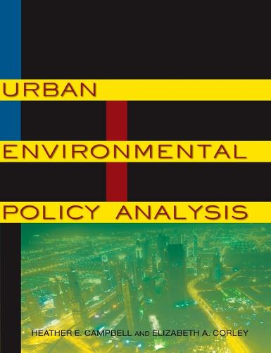 Urban Environmental Policy Analysis (Hardback)