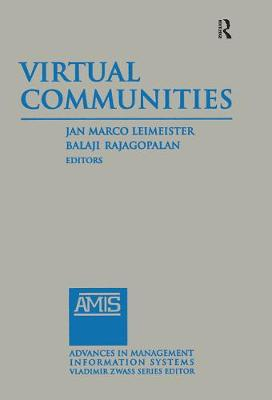 Virtual Communities 2014 - Advances in Management Information Systems (Hardback)