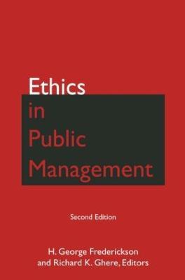 Ethics in Public Management (Hardback)