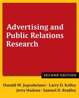 Advertising and Public Relations Research (Paperback)