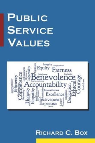 Public Service Values (Paperback)
