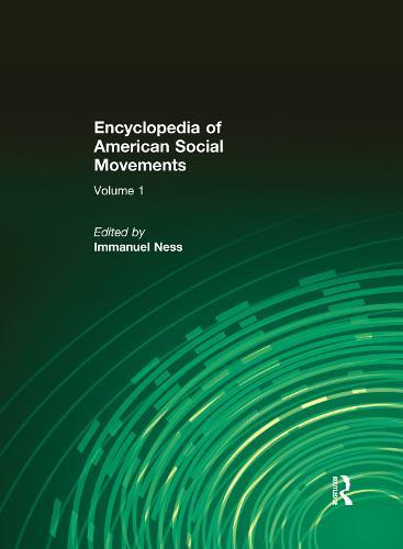 Encyclopedia of American Social Movements (Hardback)
