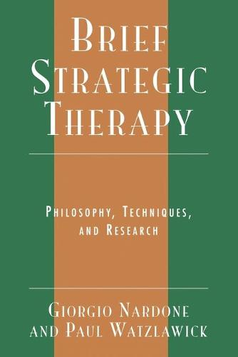 Brief Strategic Therapy: Philosophy, Techniques, and Research (Paperback)