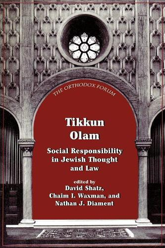 Tikkun Olam: Social Responsibility in Jewish Thought and Law - Orthodox Forum Series (Paperback)