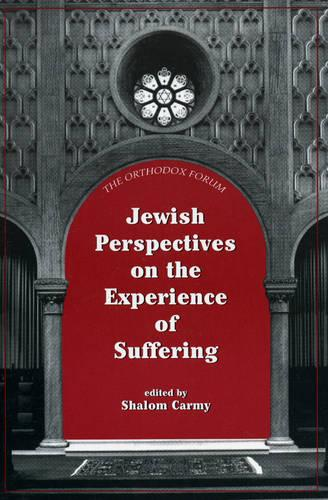 Jewish Perspectives on the Experience of Suffering - The Orthodox Forum Series (Paperback)