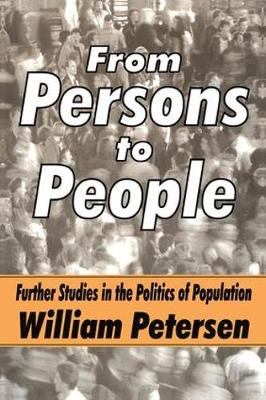 From Persons to People: A Second Primer in Demography (Hardback)