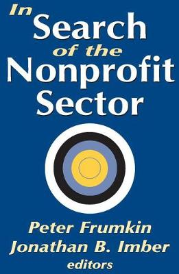 In Search of the Nonprofit Sector (Paperback)