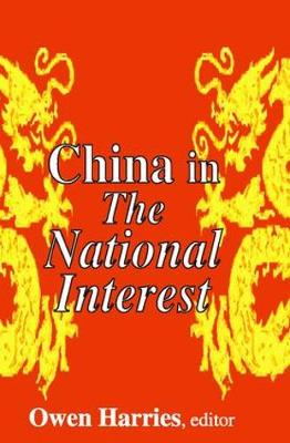 China in The National Interest (Paperback)