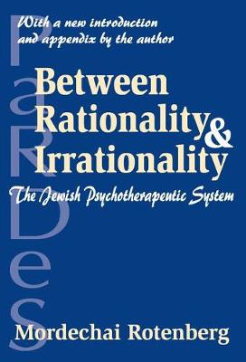 Between Rationality and Irrationality: The Jewish Psychotherapeutic System (Paperback)