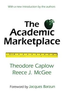 The Academic Marketplace (Paperback)