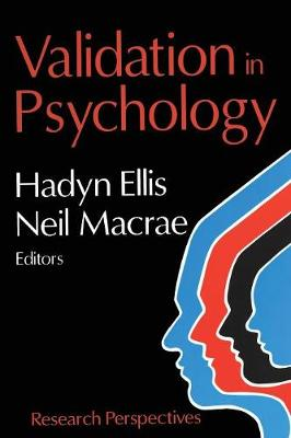 Validation in Psychology: Research Perspectives (Paperback)