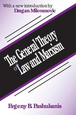 The General Theory of Law and Marxism (Paperback)