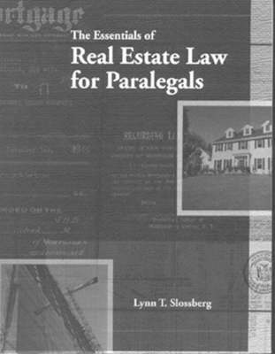 The Essentials of Real Estate Law for Paralegals (Paperback)