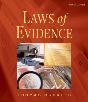 Laws of Evidence (Paperback)
