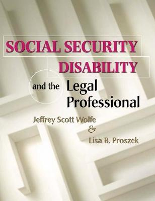 Social Security Disability and the Legal Professional (Paperback)