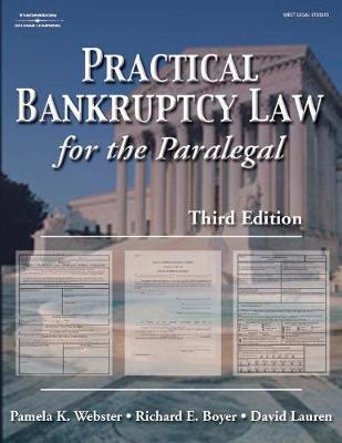 Practical Bankruptcy Law for Paralegals (Paperback)