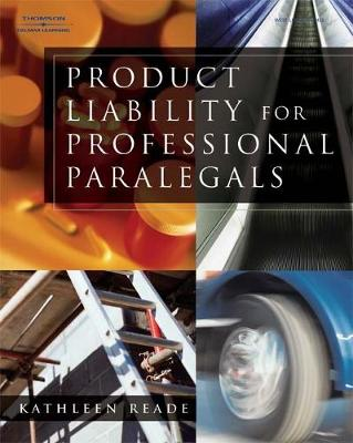 Product Liability for Professional Paralegals (Paperback)