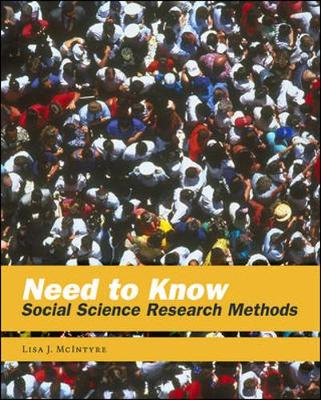 Need to Know: Social Science Research Methods (Paperback)