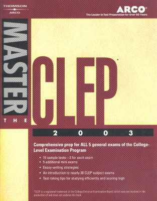 Master the Clep 2003 (Paperback)