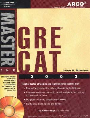Master the Gre Cat, 2003/E W/C