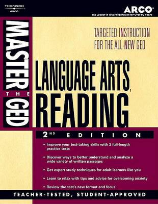Master the Ged Literature (Paperback)