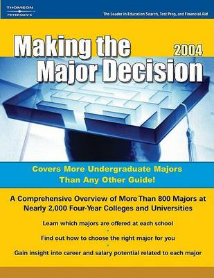 Making the Major Decision (Paperback)