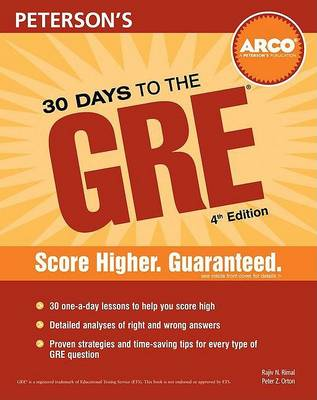 30 Days to the GRE CAT (Paperback)