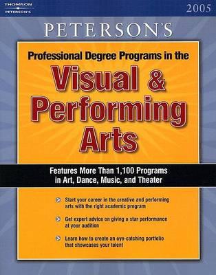 Visual and Performing Arts 2005, (Paperback)