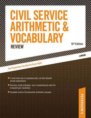 Civil Service Arithmetic and VOC (Paperback)