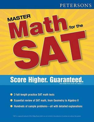 Peterson's New Sat Math Workbook (Paperback)