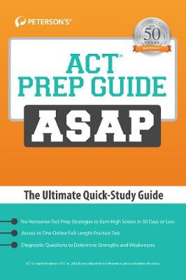 ACT Prep Guide ASAP: The Ultimate Quick-Study Guide (Paperback)