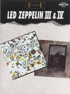 Led Zeppelin III and IV. Bass Tab Edition (Paperback)