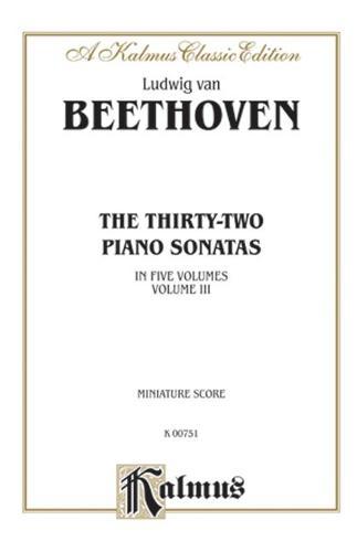 Beethoven 32 Sonatas Vol. 2 (Book)