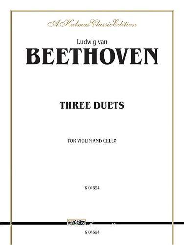 Three Duets for Violin and Cello (Book)